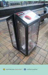 Outdoor Metal Trash vuilnisbak kan