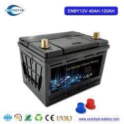 Voiture à partir de la batterie batterie LiFePO4 12V50ah Pack de batterie au lithium