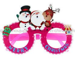 OEM 장식 크리스마스 코스튬 볼 종이 안경