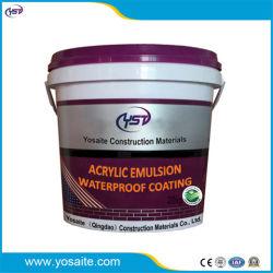 Emulsión acrílica de elástico alto revestimiento impermeable