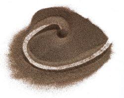 Hoog - Oxyde van het Aluminium van het Zandstralen van de dichtheid het Bruine