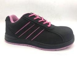 Dama de gamuza de cuero con Composite Toe-Cap y Kevlar Oriente único Calzado de Seguridad Calzado de seguridad/Ax06003