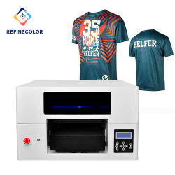 2020 Nuevo diseño RF-ts1 Impresora DTG/Camiseta de la impresora/Impresora plana/de la impresora de inyección de tinta/máquina de impresión digital textil tejido