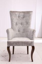 고품격있는 유럽 스타일의 초크스틸 가구, 화이트 로얄 앤틱 메탈 싱글 소파 의자