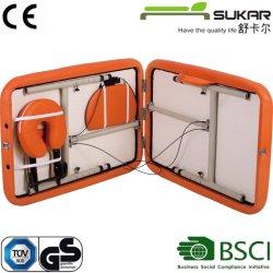 Portátil de aluminio cama de masaje spa de equipos médicos mobiliario con bolsa de transporte de alta