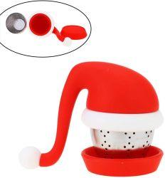 コーヒーおよび茶シリコーンの幼児のクリスマスの茶ストレーナのギフト 親