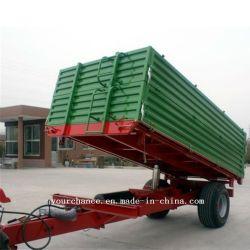 0.5-20 de alta calidad con certificado CE toneladas remolque agrícola en venta