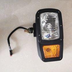 Verdadera combinación lámpara frontal 46c9987 para la venta, Clg856 cargadora de ruedas partes