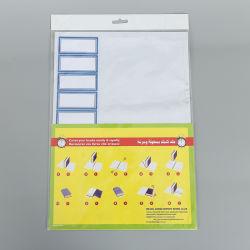 50*36cm libre de PVC adhesivo de la escuela portada del libro con la etiqueta