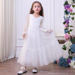 Dress Skirt Costume鶏の中心カラートランペットの袖の王女