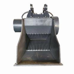 Cucharas Trituradoras de Excavadora 20t para Triturar Residuos de Demolición de Reciclaje de Asfalto, Roca y Concreto