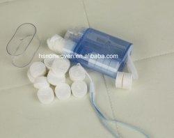 新しい進水旅行キットプラスチック使い捨て可能なマジック圧縮されたタオルディスペンサー