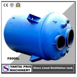 Ae/Be/CE/GB StandaardStoom/Olie/het Elektrische het Verwarmen Drukvat van het Staal van /Stainless van het Koolstofstaal (MS/MSGLR) Vacuüm(SS)/Tank van de Distillatie van de Ketel de Glas Gevoerde