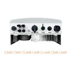 任意選択太陽電池パネルシステム2500-6000W WiFi CTコイルDCスイッチのためのMPPTの効率の5kw Solisの単一フェーズの太陽インバーター