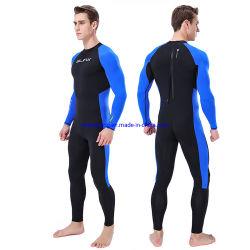 Onbesuisde Wacht van het Kostuum van de Duik van het Zwempak van de Koker van Lycra Wetsuit van de Stof Spandex van Lycra de Jumpsuit Aangepaste