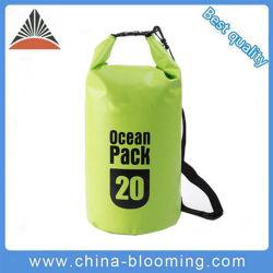 Lona de PVC resistente al agua nadando barril bolsa seca