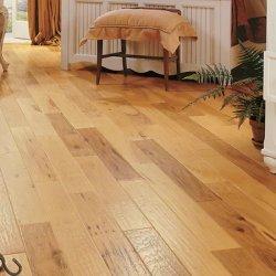 Lingueta de bambu e piso de madeira da ranhura da vertente carbonizada Tecidos de piso de bambu