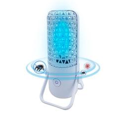 UVlicht der mini nachladbaren LED-UVC Lampen-254nm mit Ozon für Hauptbadezimmer-Hotelzimmer-Auto-Toiletten-Kino-Theater