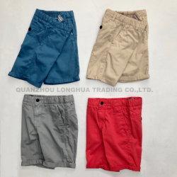 Les hommes's Boy du vêtement en coton lavé à colorant Shorts