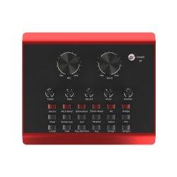 MicとのGainstrong 3.5mm USBのオーディオインターフェイスのサウンドカードサポート生きているストリームUSBのサウンドカードおよびサウンドカードの使用