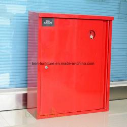 Cabinet d'extincteur d'acier avec trou de clé de protection en verre