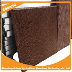 При испарении Erbang охлаждения блока (коричневый, зеленый и черный цвет)