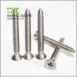 DIN7981DIN7982 DIN7983のステンレス鋼ねじ平らなヘッド鍋ヘッドセルフ・タッピングねじ