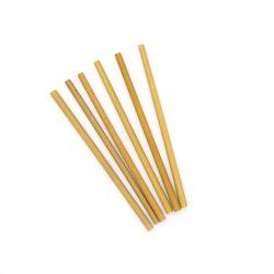 자연 스트로 친환경 유기농 Bamboo Staw