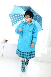 Los niños de la Historieta exterior impermeable resistente al agua de lluvia paraguas juegos botas