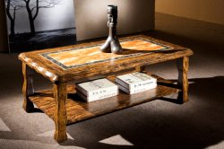 Centre de Table en bois salle de séjour un canapé-Table Nouvelle collection