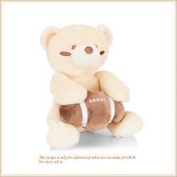 Het aangepaste Rugby van Sporten draagt de Teddybeer van de Pluche