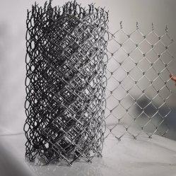 Yqはチェーン・リンクの塀の網パネルに電流を通した