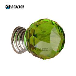 Muebles de cristal de color verde esmeralda joyero de la puerta de habitación de los niños utilizan los mandos de tirador