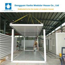 China Flat Pack modular expansível de cabina prefabricados Holiday House contentor
