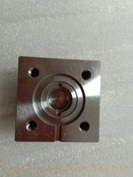 Europa paste de Zwarte Delen van het Aluminium 6061-T6 van het Oxyde Machinaal bewerkte Optische CNC voor de Lens van de Telescoop aan