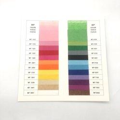 도매 사용자 지정 로고 인쇄 포장 조직 종이 분홍색 개인화 선물 포장 조직 종이 제조업체 온라인