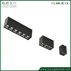 트랙 조명 CRI 93 100lm/W 4000K LED 트랙 선형 조명 자석 트랙 조명 커넥터