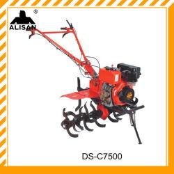 Concurrerende landbouwmachines Wheel tractor Deisel Motor Rotary Cultivator