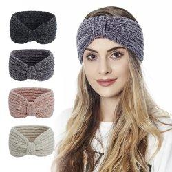 Winter Warm Headband per donne maglia di lana Headband maglia di lana Elastico Headband Headwear Girls Hair Band Hair Accessori4.9