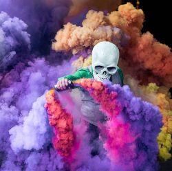 Alta Qualidade Corante de fogos de artifício, Fumaça Corante coloridos Bomba de fumaça pó seco
