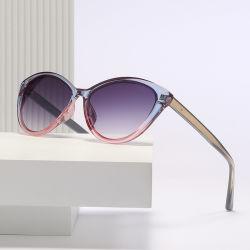 Acrílico rojo sombra de lujo de gran tamaño de pantalla Protector de gafas de sol polarizadas