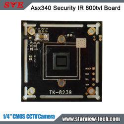 """La vigilancia CMOS de 1/4 """" Asx340 IR Junta de Seguridad 800TVL cámara CCTV"""