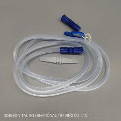 180cm de látex de succión de PVC médica gratuita el tubo de conexión