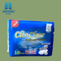 Commerce de gros de serviettes sanitaires organiques, des serviettes hygiéniques, femme serviette hygiénique Lady tampons jetables