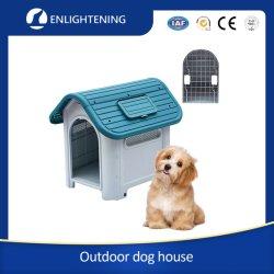 Fabrico personalizado pequeno moderno/pouco Portable confortável ambiente interior/exterior de plástico PET Dog House
