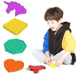 대중 음악 거품 싱숭생숭함 장난감 긴장 구조자 자폐증 둥근 교육 실리콘 장난감 반대로 불안 대중 음악을 그것 미십시오