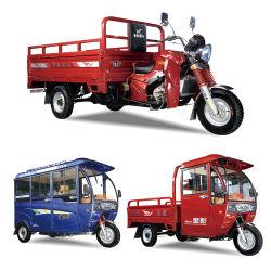 Jinpeng Gasolina de tres ruedas moto de carga para el uso de la familia, 200cc gran Potencia, sustitutos de la motocicleta, utilizados como regalos para personas de edad