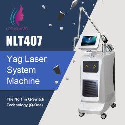 QスイッチND YAGレーザー機械スキンケアの大広間装置レーザーの入れ墨の取り外しの美装置カーボン皮の顔料療法