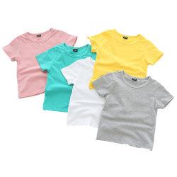 卸し売り有機性綿の赤ん坊の衣服多彩な平野 Unisex T シャツ