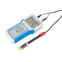 جهاز قياس الرقم الهيدروجيني (pH) لوحدة التحكم في درجة الحرارة ORP في جهاز معالجة المياه المحمول الرقمي مع إلكترود مستشعر درجة الحموضة